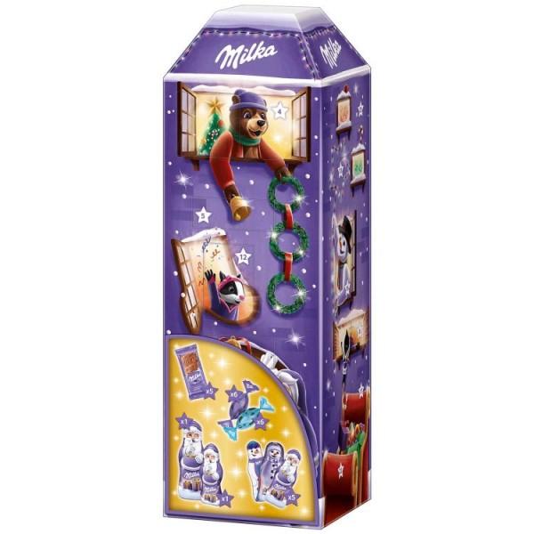 Milka 3D Haus Advent