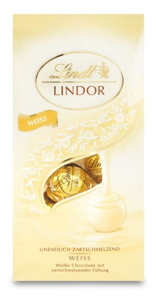 Lindt Lindor Weiss T