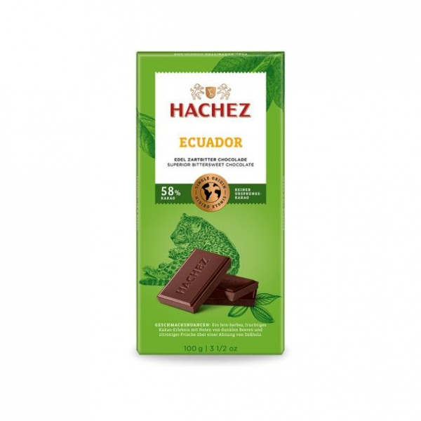Hachez Ecuador 58% T
